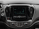 2019 Chevrolet Traverse LS, closeup of radio head unit