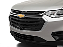 2019 Chevrolet Traverse LS, close up of grill.