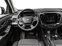 2019 Chevrolet Traverse LS, steering wheel/center console.