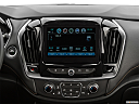 2019 Chevrolet Traverse RS, closeup of radio head unit