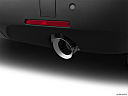 2019 Chevrolet Traverse RS, chrome tip exhaust pipe.