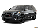 2019 Chevrolet Traverse RS, front angle medium view.