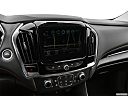 2019 Chevrolet Traverse RS, driver position view of navigation system.