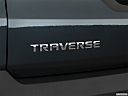 2019 Chevrolet Traverse RS, rear model badge/emblem