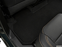 2019 Chevrolet Traverse RS, rear driver's side floor mat. mid-seat level from outside looking in.