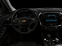 "2019 Chevrolet Traverse RS, centered wide dash shot - ""night"" shot."