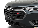 2019 Chevrolet Traverse RS, close up of grill.