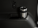 2019 Chevrolet Traverse RS, third row side cup holder with coffee prop.
