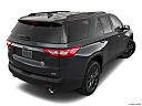 2019 Chevrolet Traverse RS, rear 3/4 angle view.