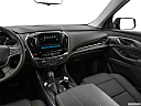 2019 Chevrolet Traverse RS, center console/passenger side.