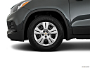 2019 Chevrolet Trax LS, front drivers side wheel at profile.