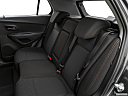 2019 Chevrolet Trax LS, rear seats from drivers side.