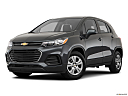 2019 Chevrolet Trax LS, front angle medium view.