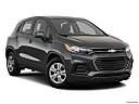 2019 Chevrolet Trax LS, front passenger 3/4 w/ wheels turned.