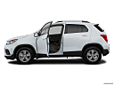 2019 Chevrolet Trax LT, driver's side profile with drivers side door open.