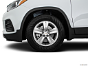 2019 Chevrolet Trax LT, front drivers side wheel at profile.