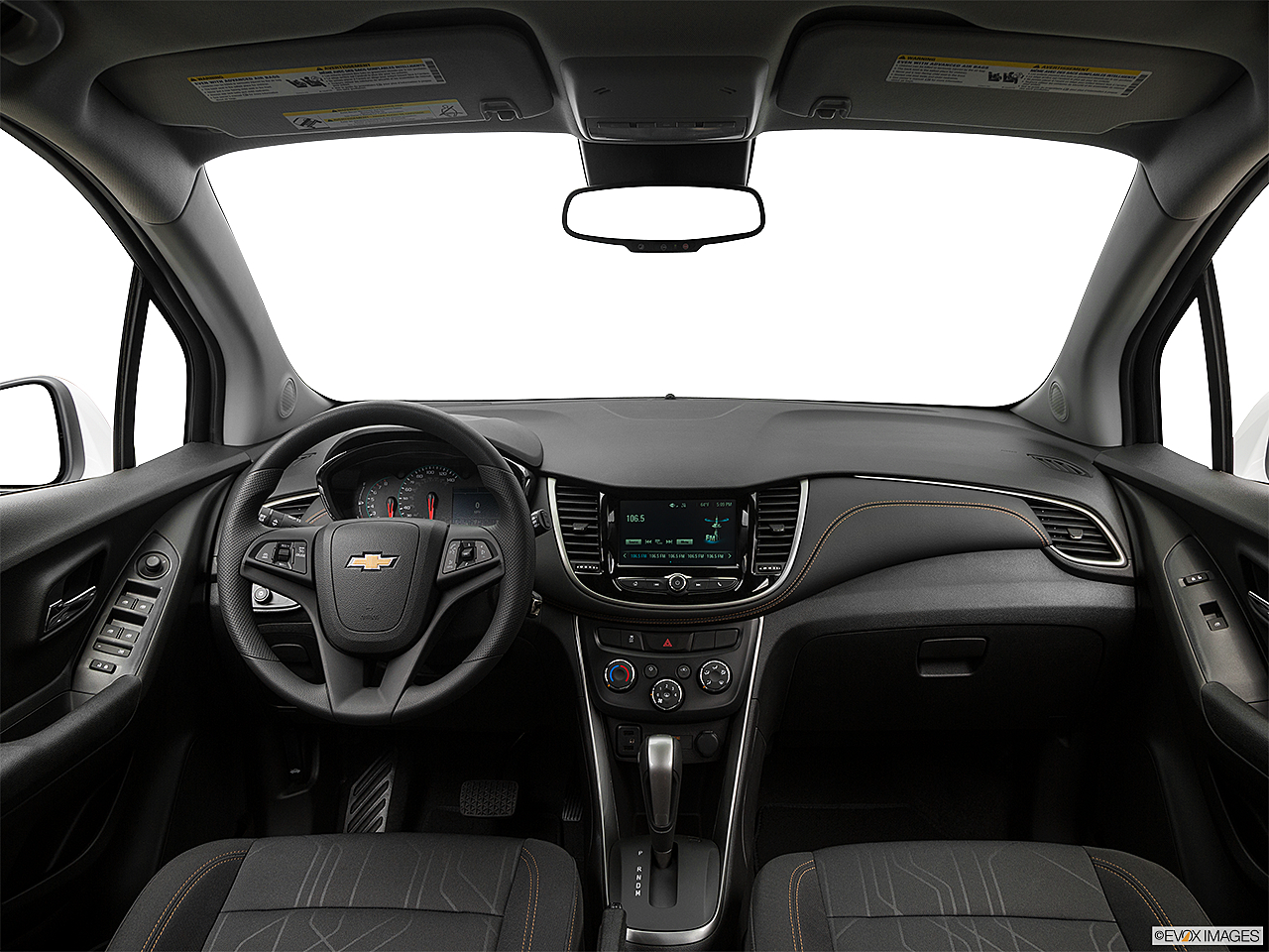 2019 Chevrolet Trax LT, centered wide dash shot