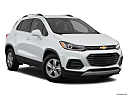 2019 Chevrolet Trax LT, front passenger 3/4 w/ wheels turned.