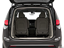 2019 Chrysler Pacifica Hybrid Limited, trunk open.
