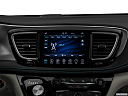 2019 Chrysler Pacifica Hybrid Limited, closeup of radio head unit