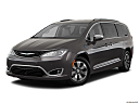 2019 Chrysler Pacifica Hybrid Limited, front angle medium view.