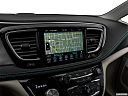 2019 Chrysler Pacifica Hybrid Limited, driver position view of navigation system.