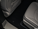2019 Chrysler Pacifica Hybrid Limited, rear driver's side floor mat. mid-seat level from outside looking in.