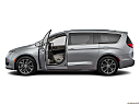 2019 Chrysler Pacifica Limited, driver's side profile with drivers side door open.