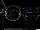 "2019 Chrysler Pacifica Limited, centered wide dash shot - ""night"" shot."