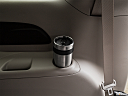 2019 Chrysler Pacifica Touring-L Plus, third row side cup holder with coffee prop.