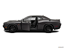2019 Dodge Challenger R/T Scat Pack, driver's side profile with drivers side door open.