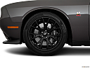 2019 Dodge Challenger R/T Scat Pack, front drivers side wheel at profile.