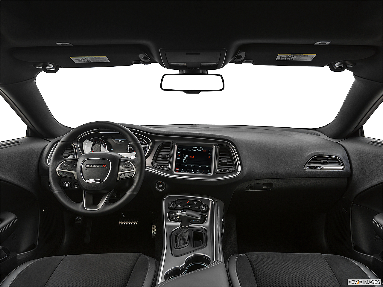 2019 Dodge Challenger R/T Scat Pack, centered wide dash shot
