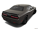 2019 Dodge Challenger R/T Scat Pack, rear 3/4 angle view.