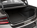 2019 Dodge Charger Scat Pack, trunk open.