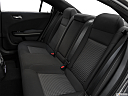2019 Dodge Charger Scat Pack, rear seats from drivers side.