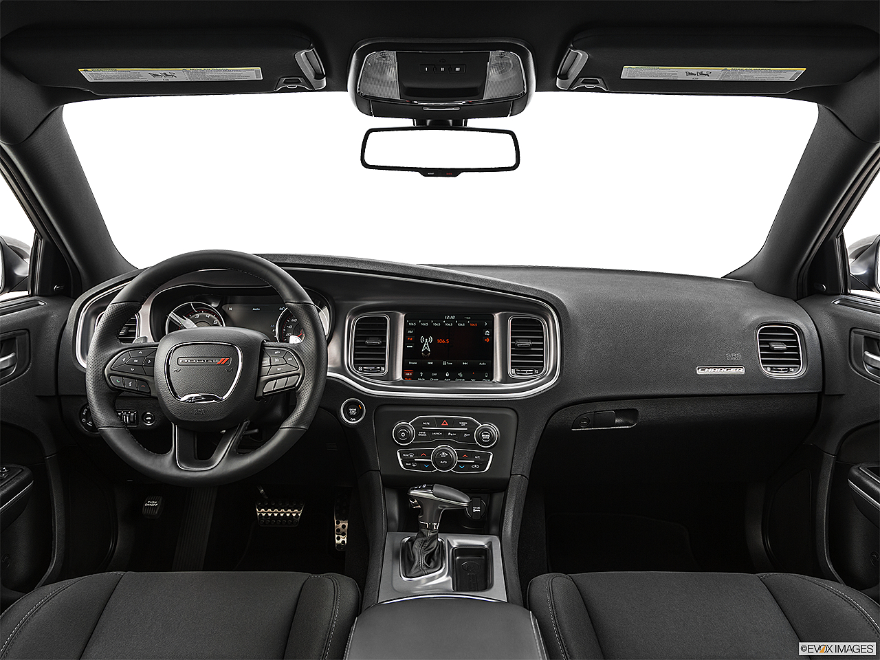 2019 Dodge Charger Scat Pack, centered wide dash shot