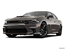 2019 Dodge Charger Scat Pack, front angle view, low wide perspective.