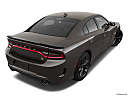 2019 Dodge Charger Scat Pack, rear 3/4 angle view.