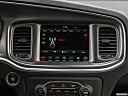 2019 Dodge Charger GT, closeup of radio head unit