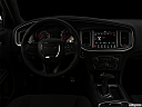 "2019 Dodge Charger GT, centered wide dash shot - ""night"" shot."