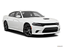2019 Dodge Charger GT, front passenger 3/4 w/ wheels turned.