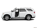 2019 Dodge Durango SXT, driver's side profile with drivers side door open.