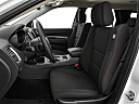 2019 Dodge Durango SXT, front seats from drivers side.