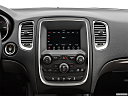 2019 Dodge Durango SXT, closeup of radio head unit