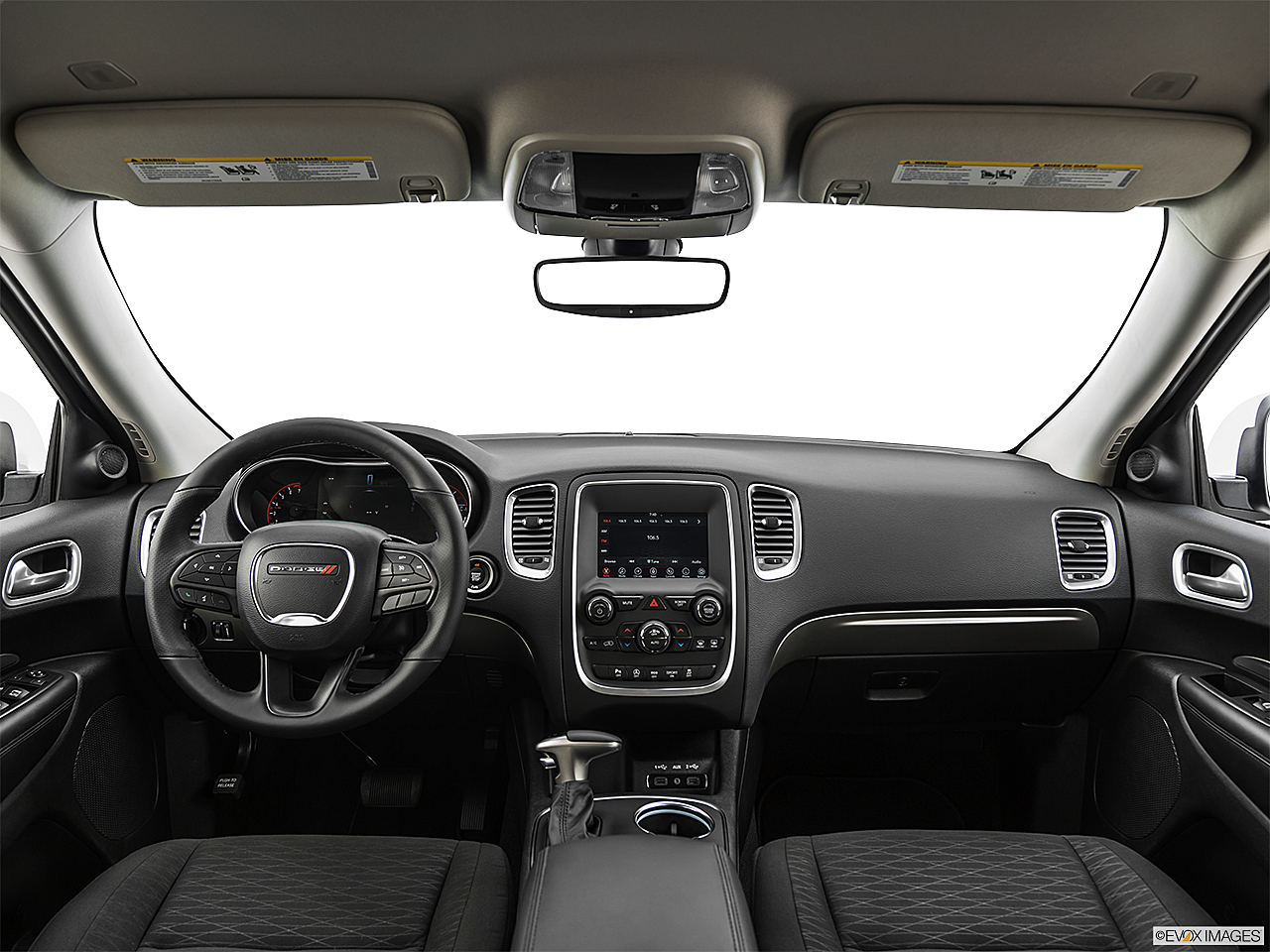 2019 Dodge Durango SXT, centered wide dash shot