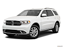 2019 Dodge Durango SXT, front angle medium view.