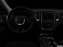"2019 Dodge Durango SXT, centered wide dash shot - ""night"" shot."