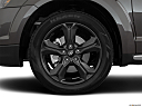 2019 Dodge Journey Crossroad, front drivers side wheel at profile.