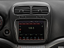 2019 Dodge Journey Crossroad, closeup of radio head unit